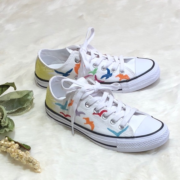 eaec803b3bb3 COVERSE x MARA HOFFMAN Embroidered OX Sneakers